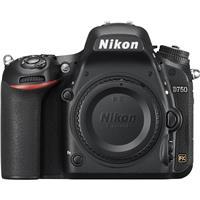 Image of Nikon D750 FX-Format Digital SLR Body Only Camera - Refurbished by Nikon U.S.A.