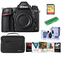 Image of Nikon D780 FX-Format DSLR Camera Body - Bundle With Camera Case, 64GB SDXC Memory Card, Cleaning Kit, Card Reader, PC Software Package