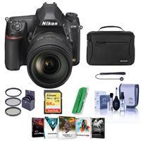 Compare Prices Of  Nikon D780 FX-Format DSLR Camera with AF-S NIKKOR 24-120mm f/4G ED VR Lens - Bundle With 64GB SDXC Card, Camera Bag, 77mm Filter Kit, Cleaning Kit, Capleash II, Card Reader, Pc Software Package