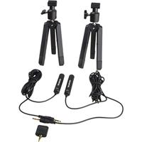 Olympus ME-30W 2 Channel Microphone Kit for & E-P2 Digital Digital Stereo Voice Recorders