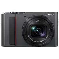 Panasonic Lumix DMC-ZS200 Digital Point & Shoot Camera, Silver