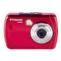 Polaroid isO48 16MP Waterproof Digital Camera, Red