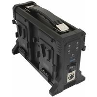 Image of IndiPRO 4-Bay Pro Battery Charger for V Mount Batteries