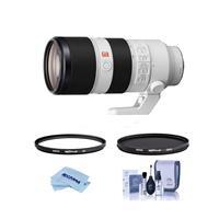 Image of Sony FE 70-200mm f/2.8 GM (G Master) OSS E-Mount Lens - Bundle With Hoya NXT Plus 77mm 10-Layer HMC UV Filter, HOYA 77mm NXT Plus Circular Polarizer Filter, Cleaning Kit, Microfiber Cloth
