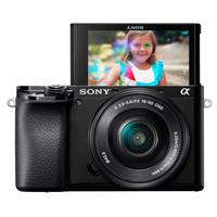 Sony Sony Alpha a6100 Mirrorless Digital Camera with 16-50mm Lens