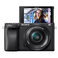 Sony Alpha a6400 24.2MP Mirrorless Digital Camera with 16-50mm f/3.5-5.6 OSS Lens