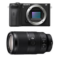 Sony Alpha a6600 Mirrorless Digital Camera - With Sony E 70-350mm f/4.5-6.3 G OSS Lens