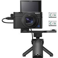 Image of Sony Cyber-shot DSC-RX100 VII Digital Camera with Shooting Grip Kit