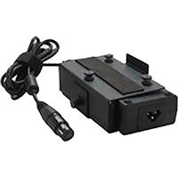 Image of Intellytech 50W AC/DC Adapter with 4-Pin XLR Power Supply and Anton Bauer Gold Mount for Socanland 50 Series 1x1' Light Panels