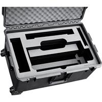 Image of Jason Cases Hard Travel Case with Laser-Cut Foam and Wheels for Cineo HS2 Light, Black