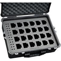 Jason Cases Case with Laser-Cut Foam for 24 Motorola CP200 Radios