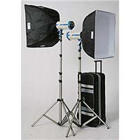 "JTL DL-1300 Versalight E-650 Soft Box Kit, with Two E-650 Monolights, Two 24x24"" Softboxes, Sta Product picture - 371"