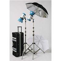 JTL DL-500 Versalight E-250 Pro Kit, with Two E-250 Monolights, Two Umbrellas, Stands & Case Product picture - 371