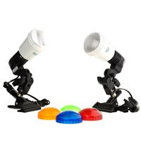 JTL DL-50 Copy Light Kit with Two S-25M Master AC Slave Strobes, Guide Number of 72, ISO 100, Feet Product image - 19