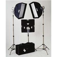 JTL TL-2250 Everlight Softbox Kit with Three Everlight Quartz Units, Softboxes, Stands & Case Product image - 166
