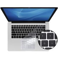 Image of KB Covers ClearSkin Ultra-Clear Keyboard Cover for MacBook, MacBook Air and Unibody MacBook Pro with Black Keys