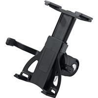 """Image of K&M 19742 Universal Tablet PC Stand Holder for Microphone Stands, 4.72-8.74"""" Height, Black"""