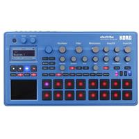 Image of Korg electribe Synthesizer-Based Music Production Station in EMX with V2.0 Software, Blue