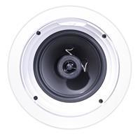 "Image of Klipsch R-1650-C 6.5"" In-Ceiling Speaker, 140W Peak Power, 57Hz-20kHz Frequency, Single, White"