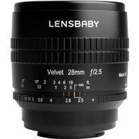 Image of Lensbaby Velvet 28 28mm f/2.5 Lens for Micro Four Thirds, Black