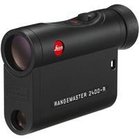 Leica 7x24 Rangemaster CRF 2400-R Compact Laser Rangefinders, 10-2400 Yard Metering Range