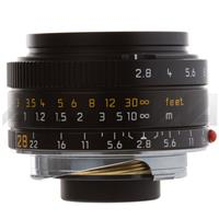 Leica 28mm f/2.8 Elmarit-M ASPHERICAL Compact Wide Angle Manual Focus Lens for the M System, Black - Product image - 153