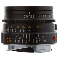 Leica 35mm f/2.5 SUMMARIT-M Wide Angle, Standard Manual Focus Lens for M System, Black - USA Product image - 229
