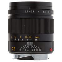 Leica 75mm f/2.5 SUMMARIT-M, Telephoto Manual Focus Lens for M System, Black - USA Product picture - 27