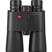 Image of Leica 8x56 Geovid-R Water Proof Roof Prism Binocular with 6.8 Degree Angle of View, Rangefinder - Yards, Black