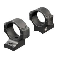 """Image of Leupold BackCountry 2-Piece Riflescope Mount with 1"""" Medium Height Rings for Winchester XPR Bolt-Action Rifles, Matte Black"""