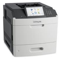Image of Lexmark MS812de Monochrome Laser Printer, 70ppm Print Speed, 1200 dpi Resolution, 650 Sheet Input Media Capacity, USB 2.0/Ethernet