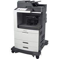 Image of Lexmark MX810dfe Multifunction Mono Laser Printer, 56ppm, 1200x1200dpi, 1200 Sheets Standard Input - Print, Copy, Scan, Fax