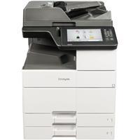 Image of Lexmark MX910de High-Volume Multifunction Mono Laser Printer, Up to 45 ppm Black, 1200x1200dpi (1200 Image Quality), 1150 Sheet Standard Capacity, Duplex (2-Sided) Printing - Print, Copy, Scan, Fax