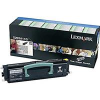 Image of Lexmark X203A11G Black Toner Cartridge for X204 Series Monochrome Laser Multi Function Printers, 2500 Pages Yield
