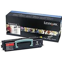 Image of Lexmark X203A21G Black Toner Cartridge for X204 Series Monochrome Laser MFPs, 2500 Page Yield