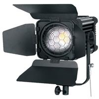 Image of Ledgo 120W LED Fresnel Light with DMX and Wi-Fi, 5600K Color Temperature, Dimmable