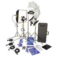 Lowel DV Creator 55 Kit, Analog & Digital Video Lighting Location Kit, with TO-84Z Case Product image - 326