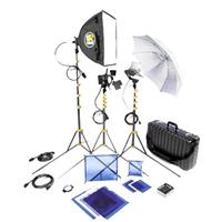 Lowel DV Core 250 Lighting and Accessories Kit with Go-85 Case Product image - 1053