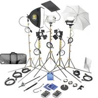 Lowel DV Pro 44 Lighting and Accessories Kit with LB-35R Soft Case Product image - 338