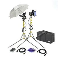 Lowel ViP GO Pro Visions Kit, Quartz Lighting Outfit with LB-30 Soft Case Product image - 2143