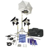 Lowel TO GO 98 Omni/Tota Kit, Quartz Lighting Outfit, with LB-35 Soft Case Product image - 100