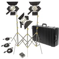 Lowel Action Kit, Quartz Lighting Outfit with TO-84Z Case Product image - 202