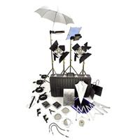 Lowel Ambi Kit, Quartz Lighting Outfit, with 2 Tota Lights, 2 Omni Lights, Stands, Bulbs & Acces Product picture - 22