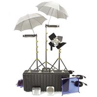 Lowel Basically 3 Kit, Quartz Lighting Outfit with LB-35 Soft Case. Product image - 588