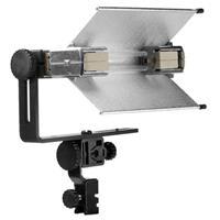 Lowel V-Light Pak, V-Light Kit with V-Light Broad Quartz Light, 500 watt 120 volt GDA Lamp, Silver T Product image - 1592