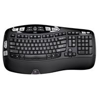 Logitech K350 Advanced 2.4GHz Wireless Keyboard with Instant Media Access and Programmable Keys