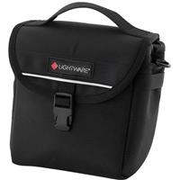 Image of Lightware Body Pouch, Belt Pouch with Hook & Loop Belt Attachment, Color: Black.