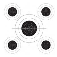 Lyman TargDots 50' Bullseye Target Roll for the Auto Advance Target System