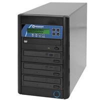 Microboards Technology CopyWriter DVD PRM-316, Premium Version Duplicator with 3 Recording Drives, 18x DVD, 48x CD Speeds.