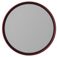 Image of MeFOTO 67mm Wild Blue Yonder Circular Polarizer Filter - Red Filter Ring